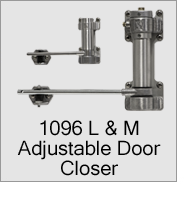 1096 L & M Adjustable Door Closers
