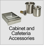 Cabinet and Cafeteria Accessories Applications Menu