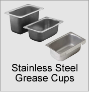 Stainless Steel Grease Cups